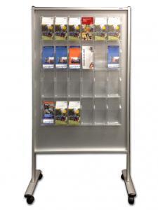 511-Aufsteller Prospekt 24x DIN lang C5 Acrylboxen