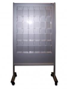 511-Aufsteller Prospekt 24x DIN lang C5 Acrylhalter