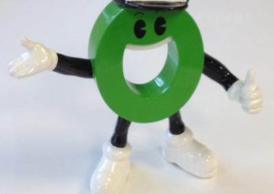 512-Figur 3-D Druck Modellfigur Männchen Vorn 2