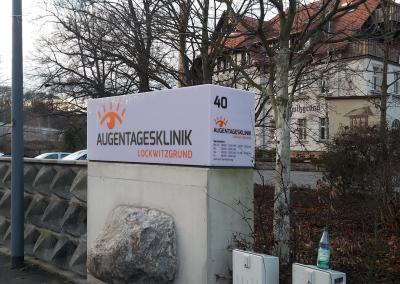529_LED Leuchtkasten Aussenwerbeanlage Dresden