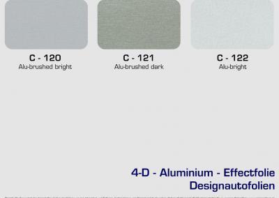 CFC-Designautofolien-Aluminium