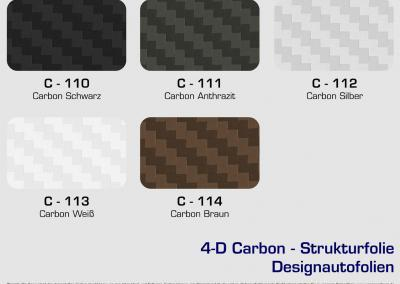 CFC-Designautofolien-Carbon