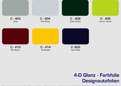 CFC-Designautofolien-Glanz