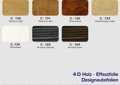 CFC-Designautofolien-Holz