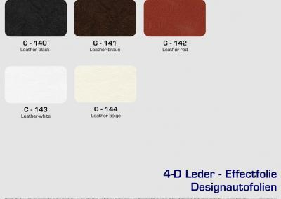 CFC-Designautofolien-Leder