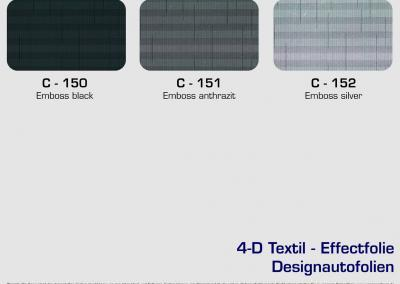 CFC-Designautofolien-Textil