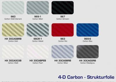 HX-Carbon-Autofolie Fahrzeugfolierung Car Wrapping