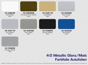 HX-Metallic-Autofolien