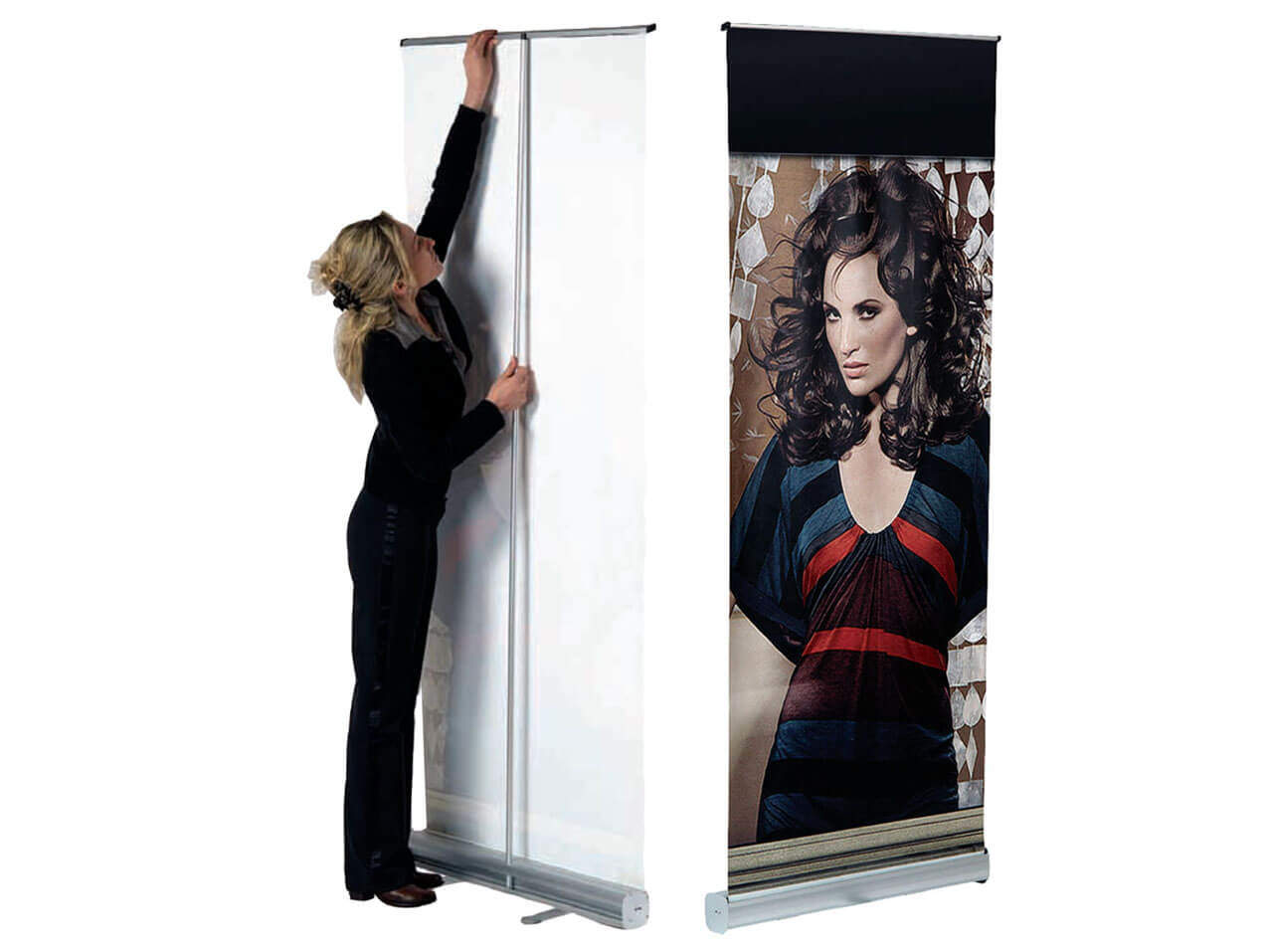 Roll Up Bannersystem Display Erco