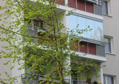 Sonnenschutz-Balkons