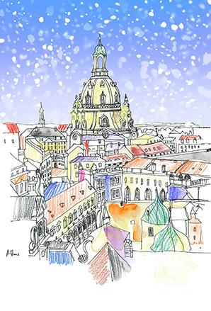 Frauenkirche-Dresden-Wandbild-WA087