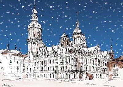 Schloss-Dresden-Schnee-Winter-S117
