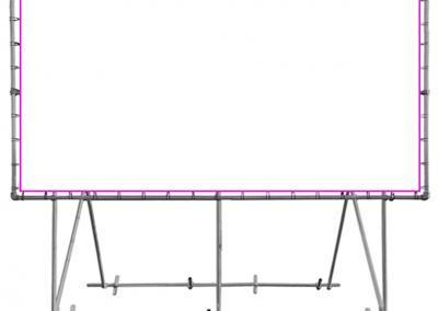 Banner-System-Grossformatdruck-Montage-1