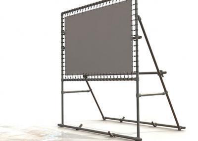 Banner-System-Grossformatdruck-Montage-3