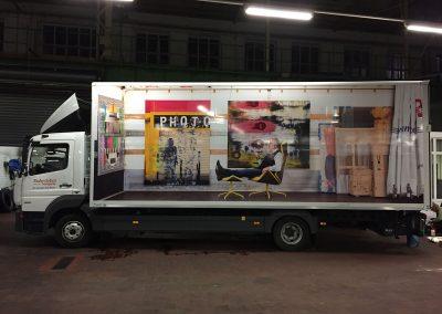 598--Transporte-Dresden-LKW-Aufkleber-Digitaldruck-Bild 5 Foto kleben