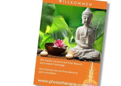 Plakat-Poster-Physiotherapie-Dresden-Ilona-Zobel-druck