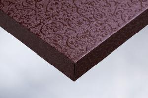 T4-Moebelfolie-Dekorfolie-Metallic-Metall-Metal-Arabeske-aubergine-Designfolie