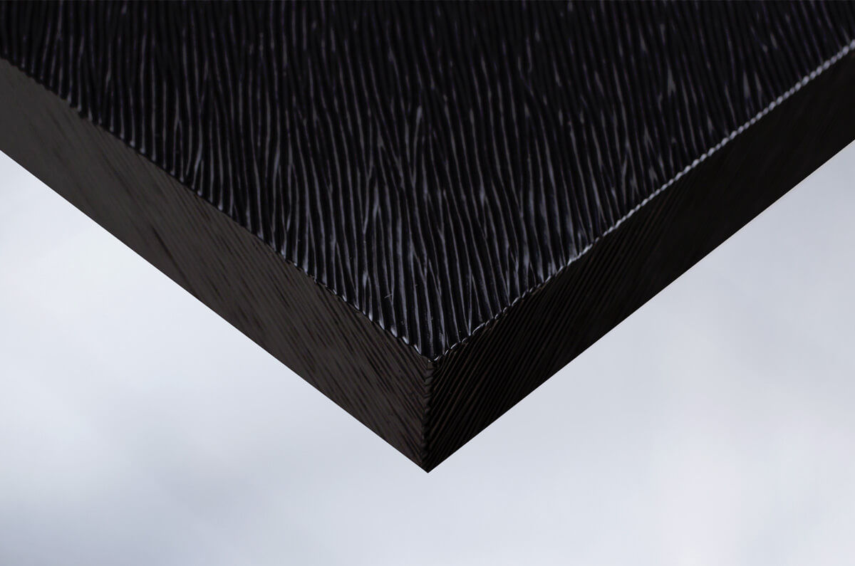 x9 moebelfolie dekorfolie metallic metall metal schwarz matt gestreift klebefolie wegaswerbung. Black Bedroom Furniture Sets. Home Design Ideas