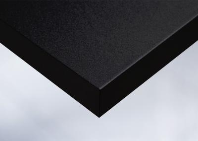 K1-Moebelfolie-Dekorfolie-Unifarbe-color-matt-Samt-matt-schwarz-gekoernt-Tapete