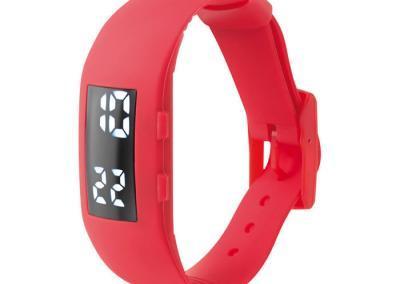 LED-Armbanduhr-Silikon