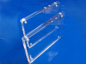 Tischaufsteller-Acryl-Block-Magnethalter-Visitenkarten-Flyer-2