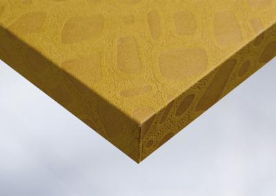 W2-Moebelfolie-Dekorfolie-Stoff-orange-blase-Struktur-Designfolie
