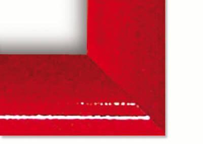 214-Klapprahmen-25mm-Rot-Snap-Frame-Bilderrahmen