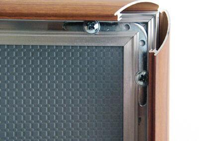 216-Klapprahmen-25mm-Wood-Snap-Frame-Bilderrahmen-open
