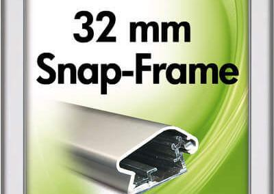 221-SnapFr-Rondo-32mm-Klapprahmen-Snap-Frame-Bilderrahmen-Wandbild-Rund