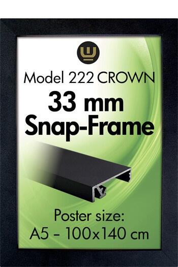 222-CrownSnapFrame-wall-Klapprahmen-Snap-Frame-Bilderrahmen-Wandbild-Koenig