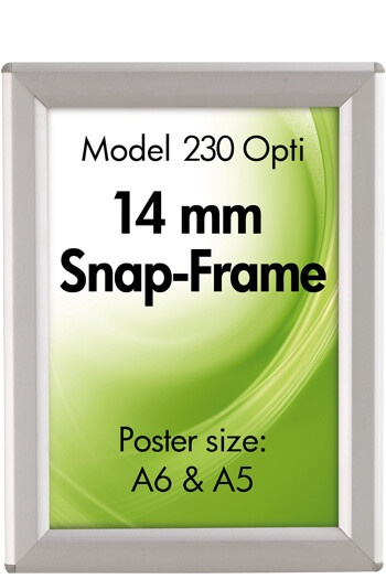 230-OptiFrame-14mm-Klapprahmen-Snap-Frame-Bilderrahmen-Wandbild