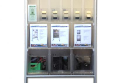 511-Aufsteller-Mobil-6xA4-12x-DIN-lang-Flyer-Regal