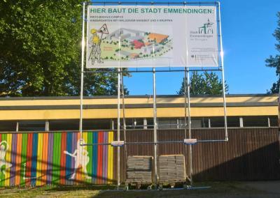 552-Aufsteller Plane Stadt Emmendingen Freiburg Breisgau