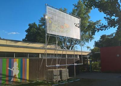 552-Bauschild Aufsteller Plane Stadt Emmendingen Freiburg Breisgau