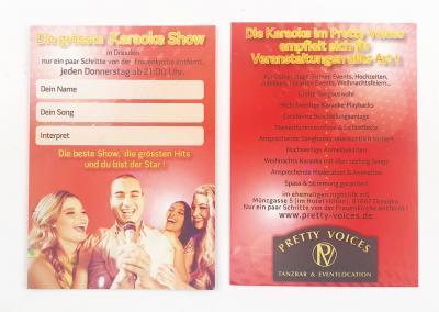 235-Karaoke-Flyer-Pretty-Voices-An der Frauenkirche-Dresden