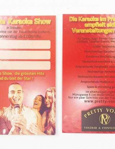 235-Karaoke-Flyer-Pretty-Voices-An der Frauenkirche-Dresden