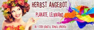 Herbst Aktion Rabatt Poster, Leinwand billig günstig schnell drucken, Copyshop Dresden