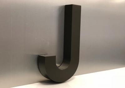 599-3D-Buchstabe-J-Deko-Wohnung-Wandtattoo-Wand