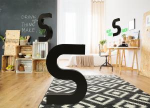 599-3D-Buchstaben-Dekobuchstaben-Wohnung