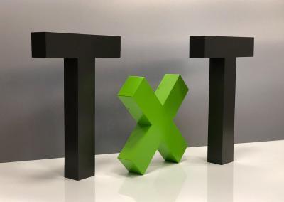 599-3D-Schriftzug-TxT-Deko-Wohnung-Wandtattoo-Wand