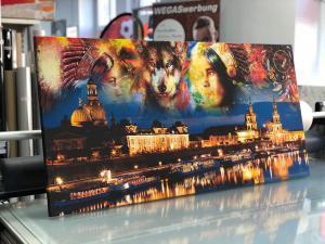 602-Leinwanddruck-Keilrahmen-Motiv-Indianer-Dresden