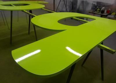 603-Einzelbuchstabe-PVC-lackieren