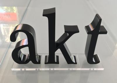 603-Einzelbuchstaben-akt-gefraest Werbeagentur Werbetechnik Wegaswerbung Dresden