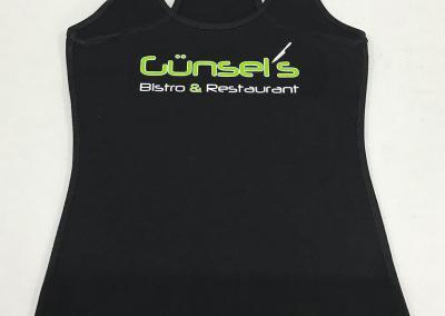 606-Shirtbeschriftung-Guensels Bistro und Restaurant
