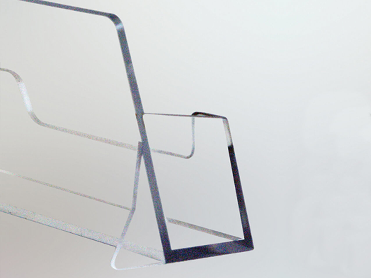 1212-Visitenkartenhalter-Acrylbox-klar