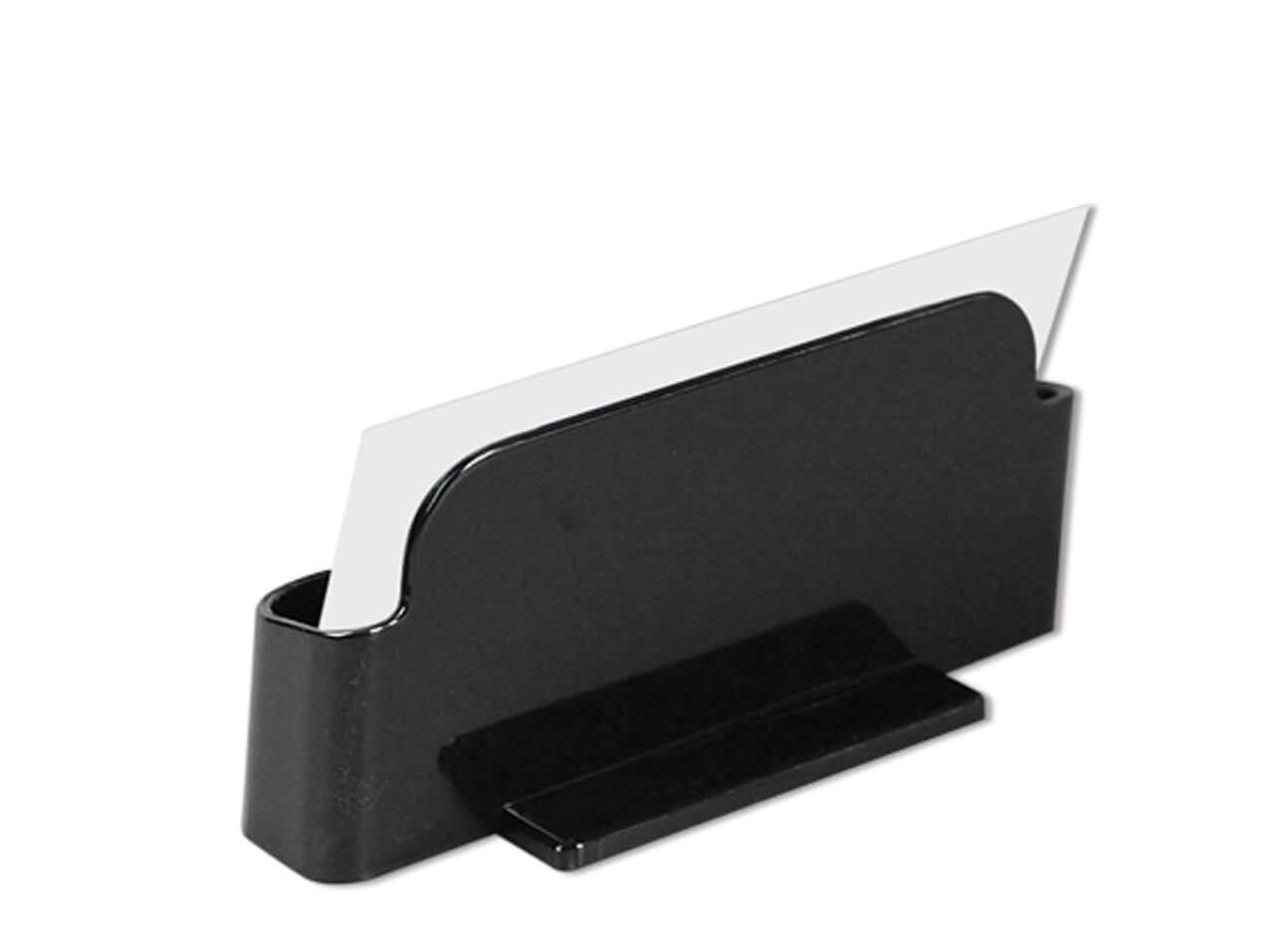 1213-Visitenkartenhalter-Acryl-schwarz