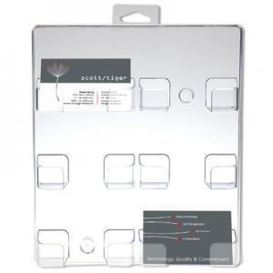 1218-Wandhalter-Visitenkartenhalter-Acrylglas