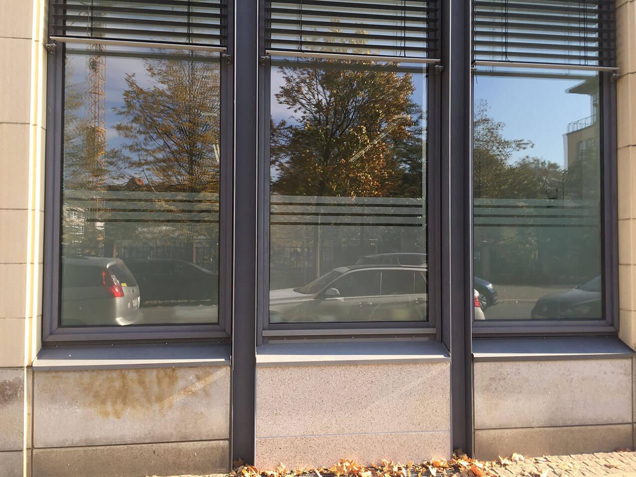 Sichtschutzfolien Fur Fenster Turen Montage Wegaswerbung