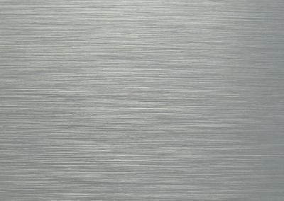 99-Platten Schilder Dibond Butlerfinish Silber gebürstet Aluverbund