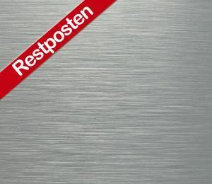 B52001-0-Platten-Schilder-Dibond-Butlerfinish-Silber-gebürstet Restposten Sonderangebot-billig